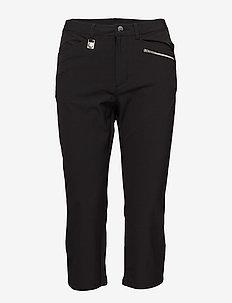 Comfort Stretch Capri - sportbyxor - black