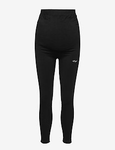 Maternity Seamless Tights - juoksu- & treenitrikoot - black