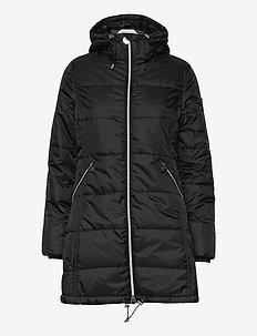 Active Padded Coat - parkasjackor - black