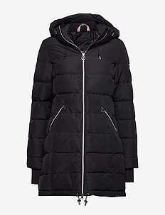 All Weather Down Jacket - parkasjackor - black