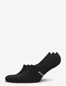 2-pack invisible sock - kousen - black