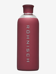 Glass Water Bottle - water bottles - burgundy