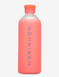 Glass Water Bottle - butelki wody - coral
