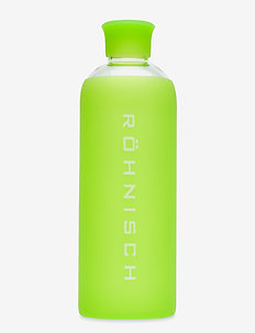 Glass Water Bottle - waterflessen - lime