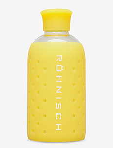 SMALL GLASS BOTTLE - vandflasker - lemon drop