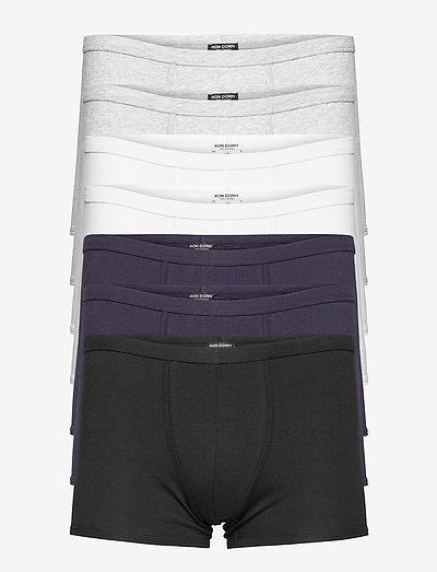 The 747 Boxer Briefs Classic Kit - underkläder - white / navy / grey / black