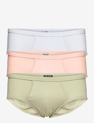 Weekend Y-Front Briefs Discovery Kit - heren slips - pink / arctic blue / khaki