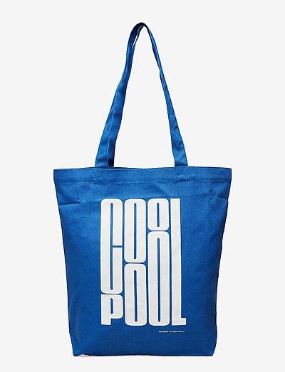 TOTE BAG COOL POOL - sacs - pool blue