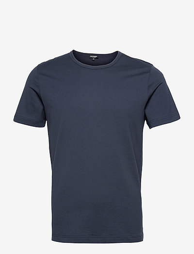 EYELET EDITION T-SHIRT - basic t-shirts - navy