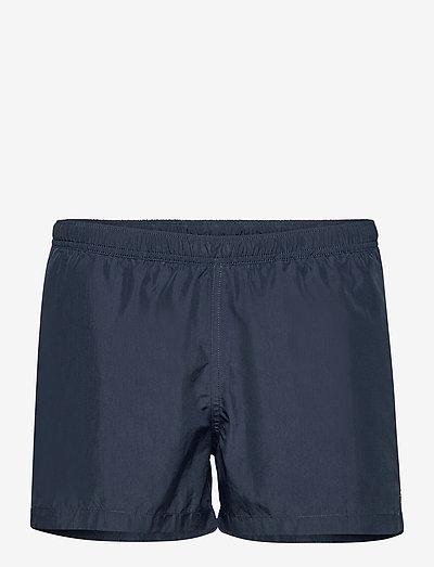 SWIM SHORTS Side Stripes - shorts de bain - navy / hot pink / sun yellow