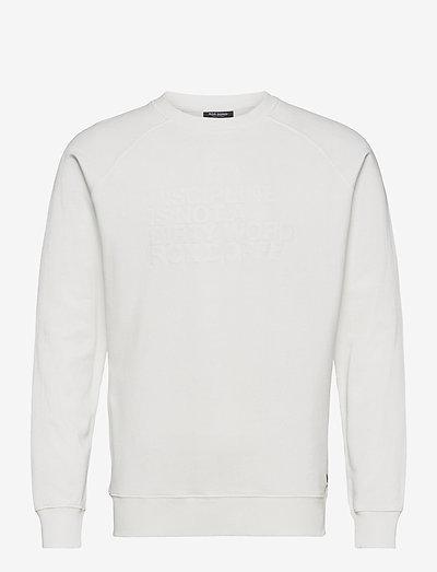 SWEATSHIRT DISCIPLINE - basic sweatshirts - off white