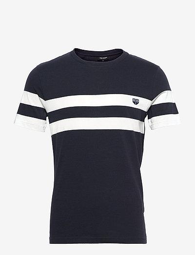 T-SHIRT RD Chest Stripes - t-shirts - navy