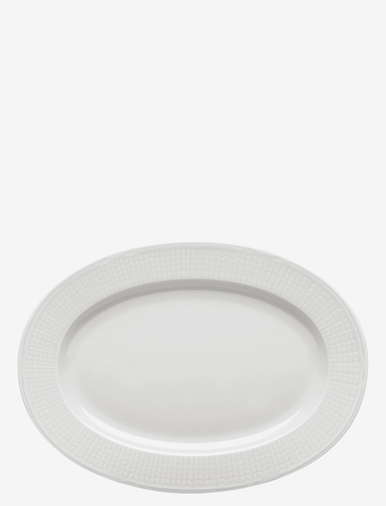 Rörstrand - SWGR ovalt til 32cm - serveringsfat - snow - 0
