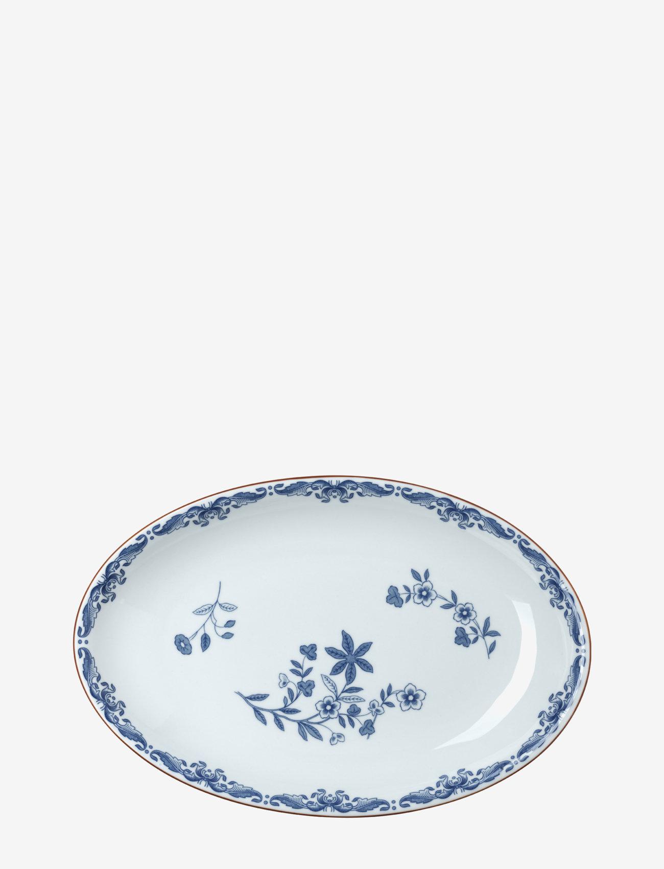 Rörstrand - Ostindia ovalt serveringsfat 33x22cm - serveringsfat - white - 0