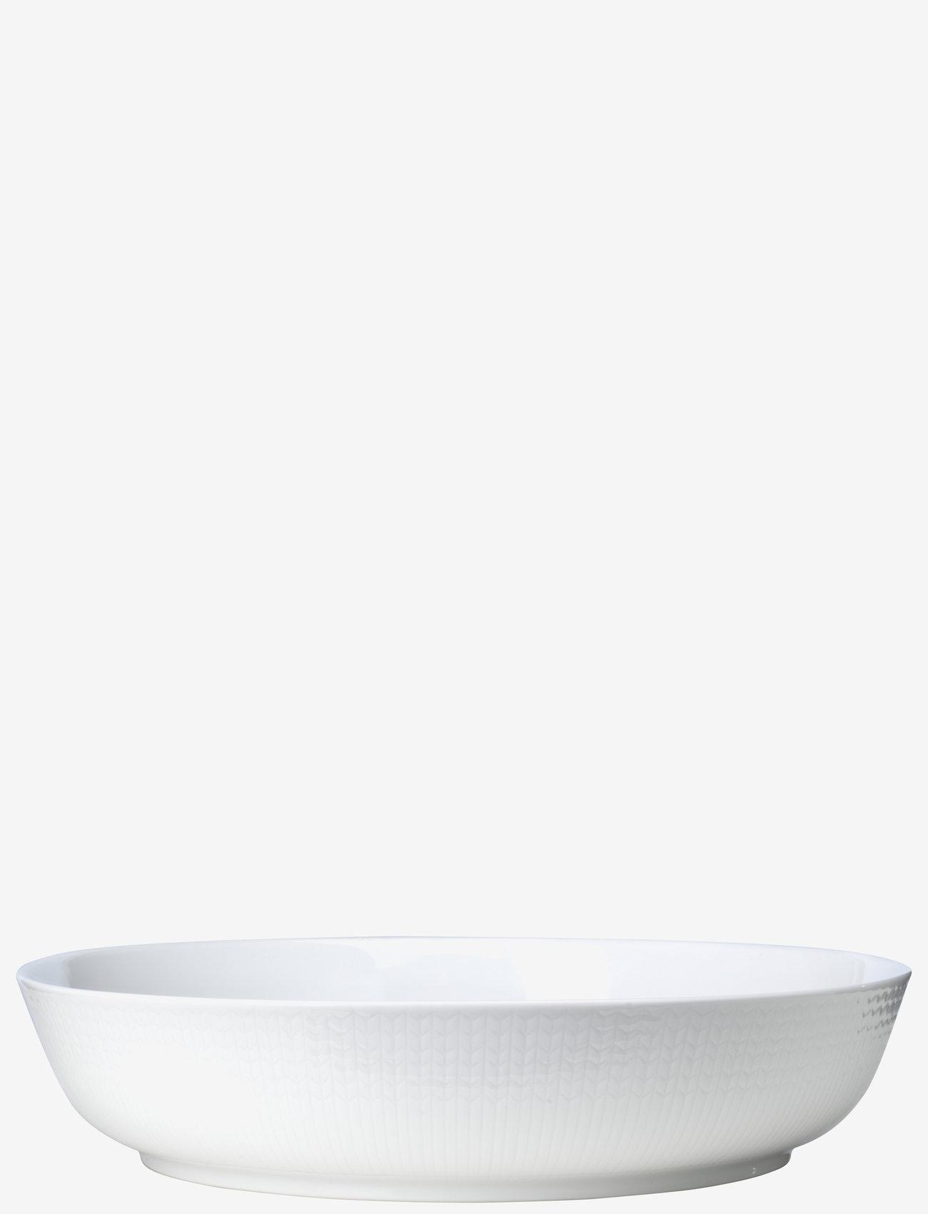 Rörstrand - Swedish Grace oven dish 2,5L - tarjoiluastiat ja -lautaset - snow - 0