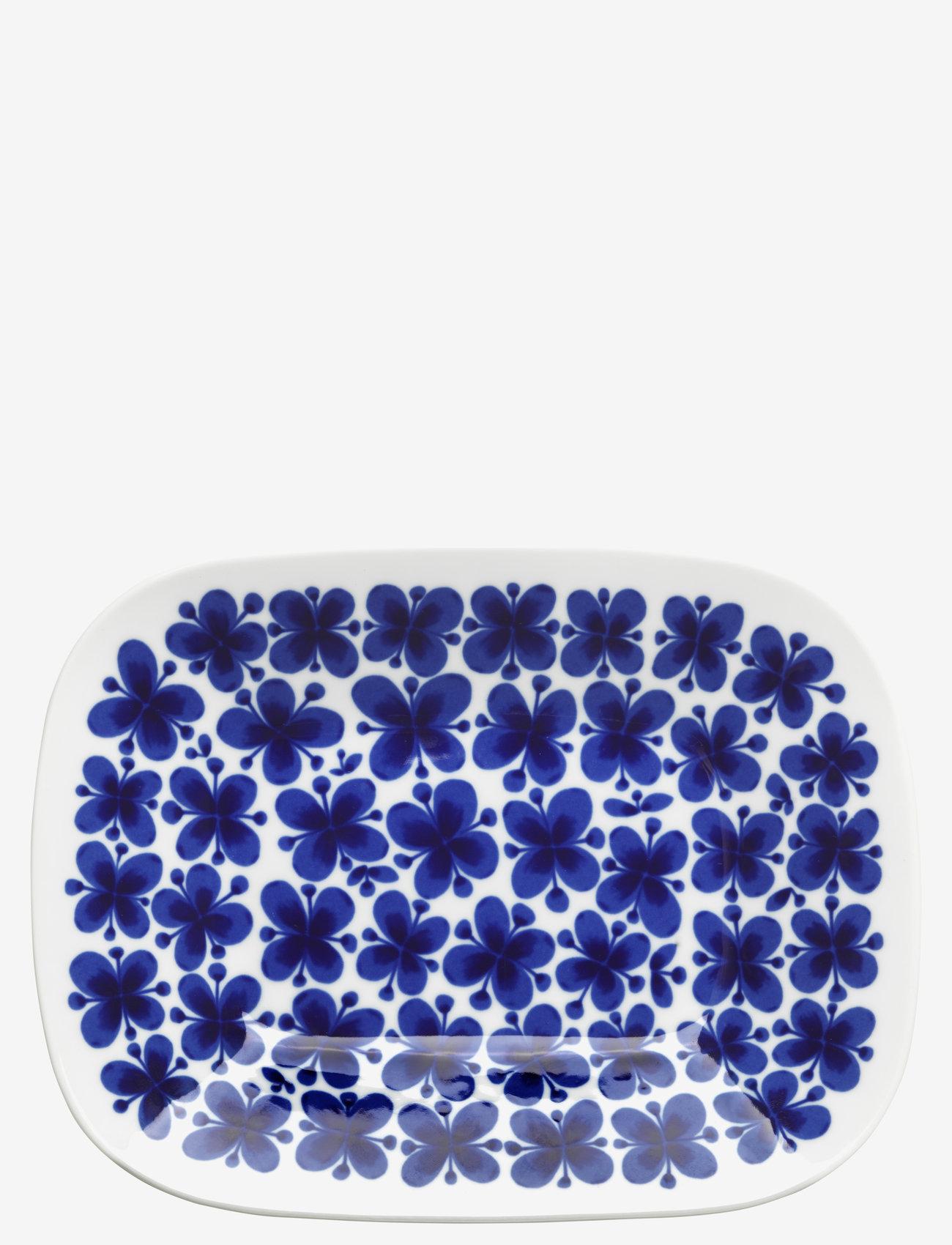 Rörstrand - Mon Amie serveringsfat 22x28cm - serveringsfat - blue - 0