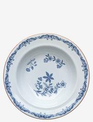 Rörstrand - Ostindia plate deep 24cm - syvät lautaset - white - 0