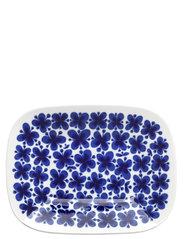 Mon Amie serveringsfat 22x28cm - BLUE