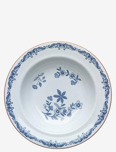 Ostindia plate deep 24cm - 100–200€ - white