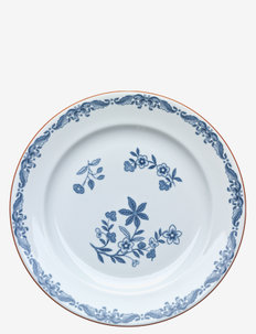 Ostindia plate - 100–200€ - white
