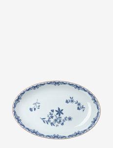 Ostindia oval serving dish - 100–200€ - white