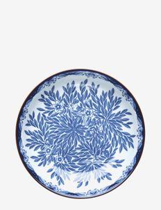 Ostindia Floris plate deep 22cm - 100–200€ - blue