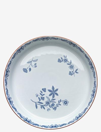 Ostindia oven dish 28cm - osta hinnan perusteella - white
