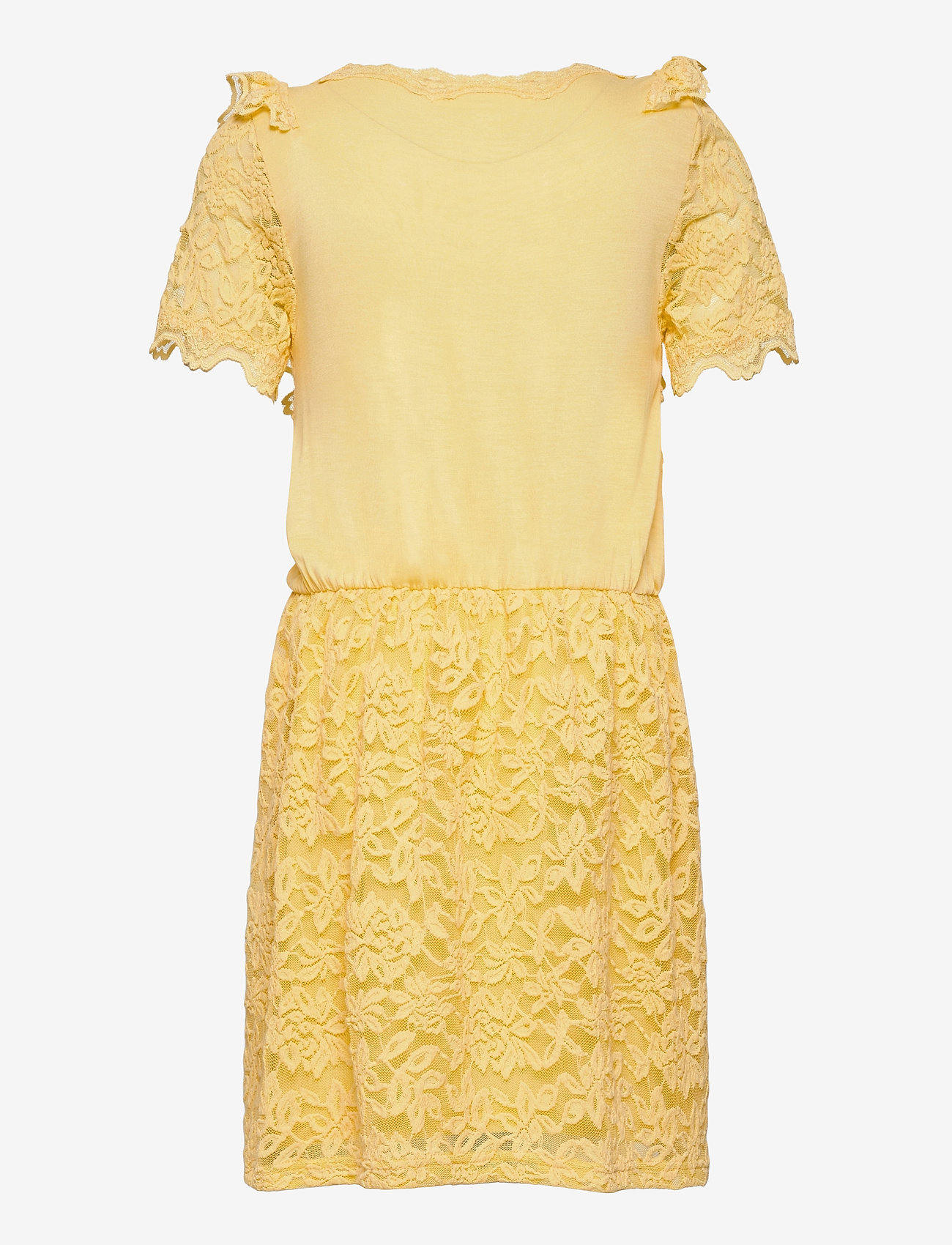 Rosemunde Kids - Dress ss - kleider - vanilla yellow - 1