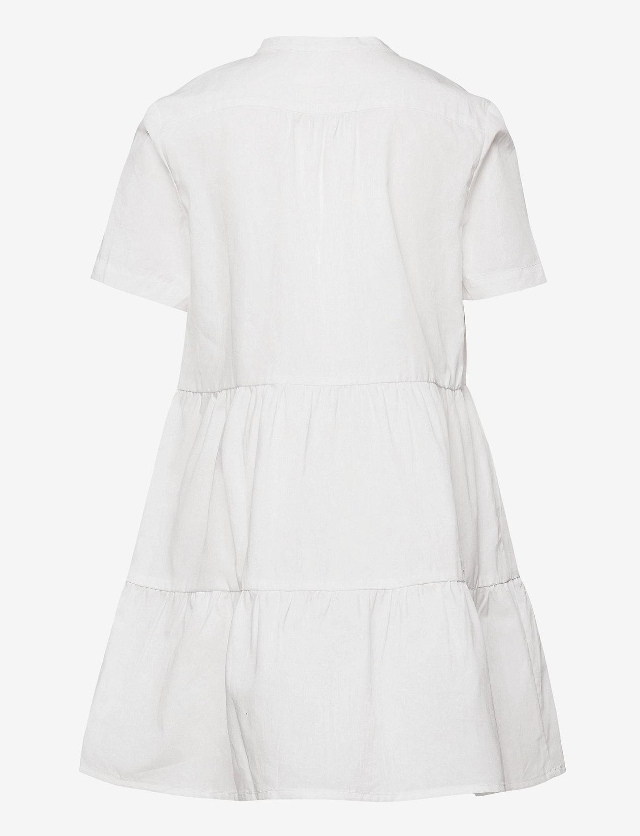Rosemunde Kids - Organic cotton dress ss - kleider - new white - 1