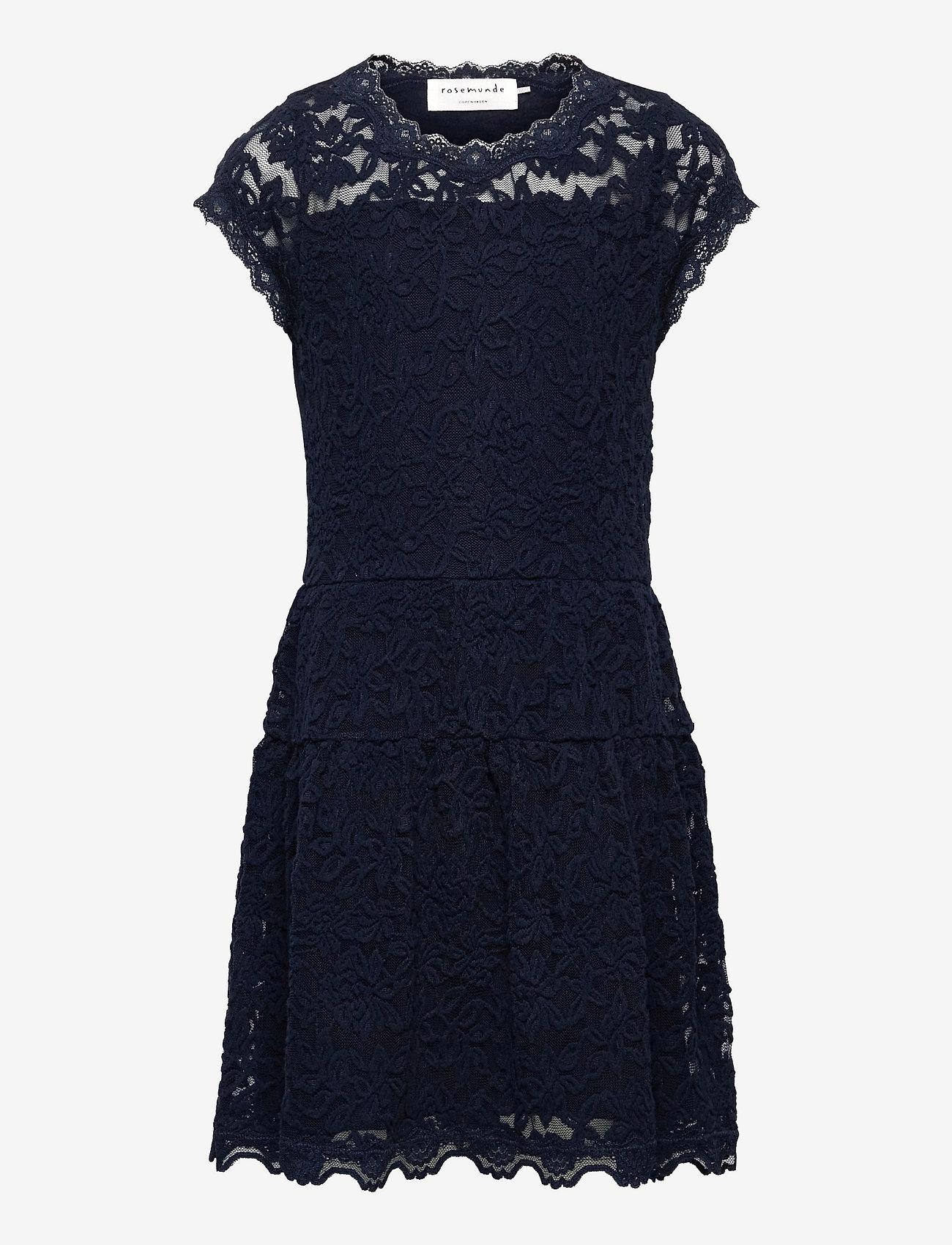 Rosemunde Kids - Dress ss - kleider - dark blue - 0