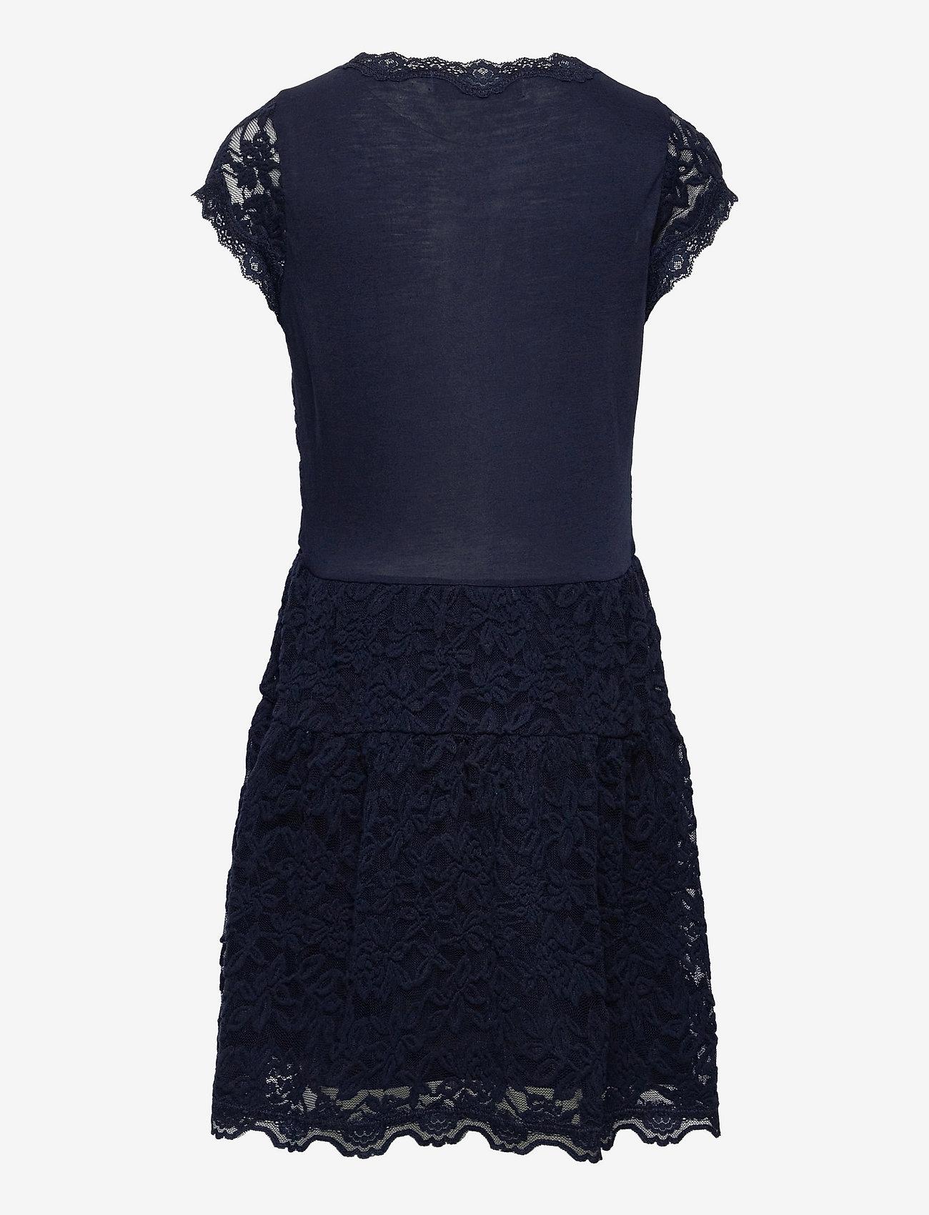 Rosemunde Kids - Dress ss - kleider - dark blue - 1