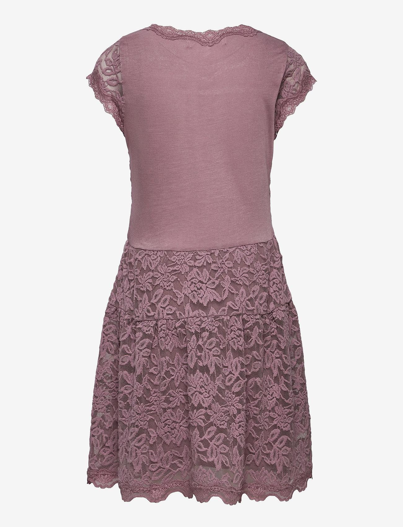 Rosemunde Kids - Dress ss - kleider - elderberry - 1