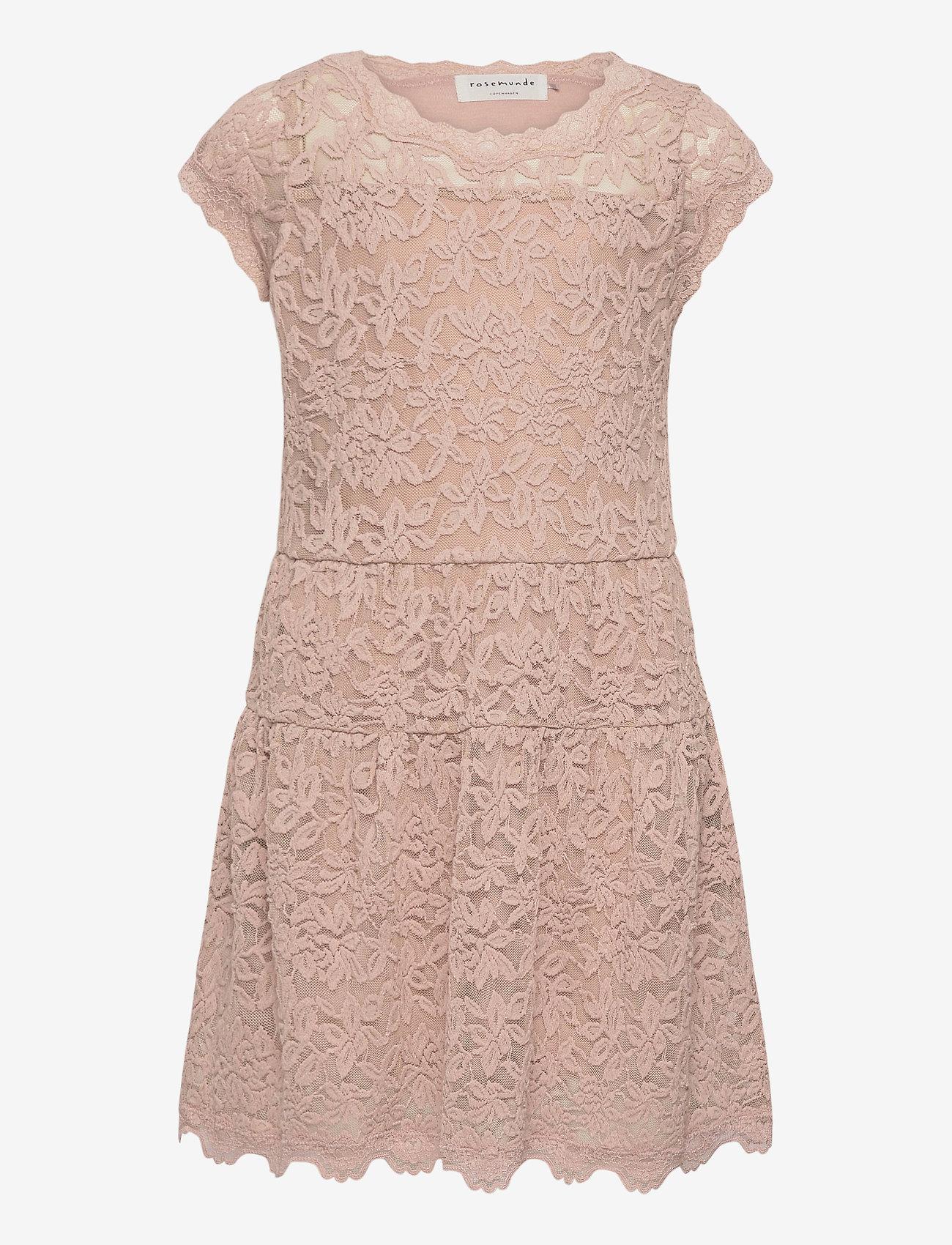 Rosemunde Kids - Dress ss - kleider - vintage powder - 0