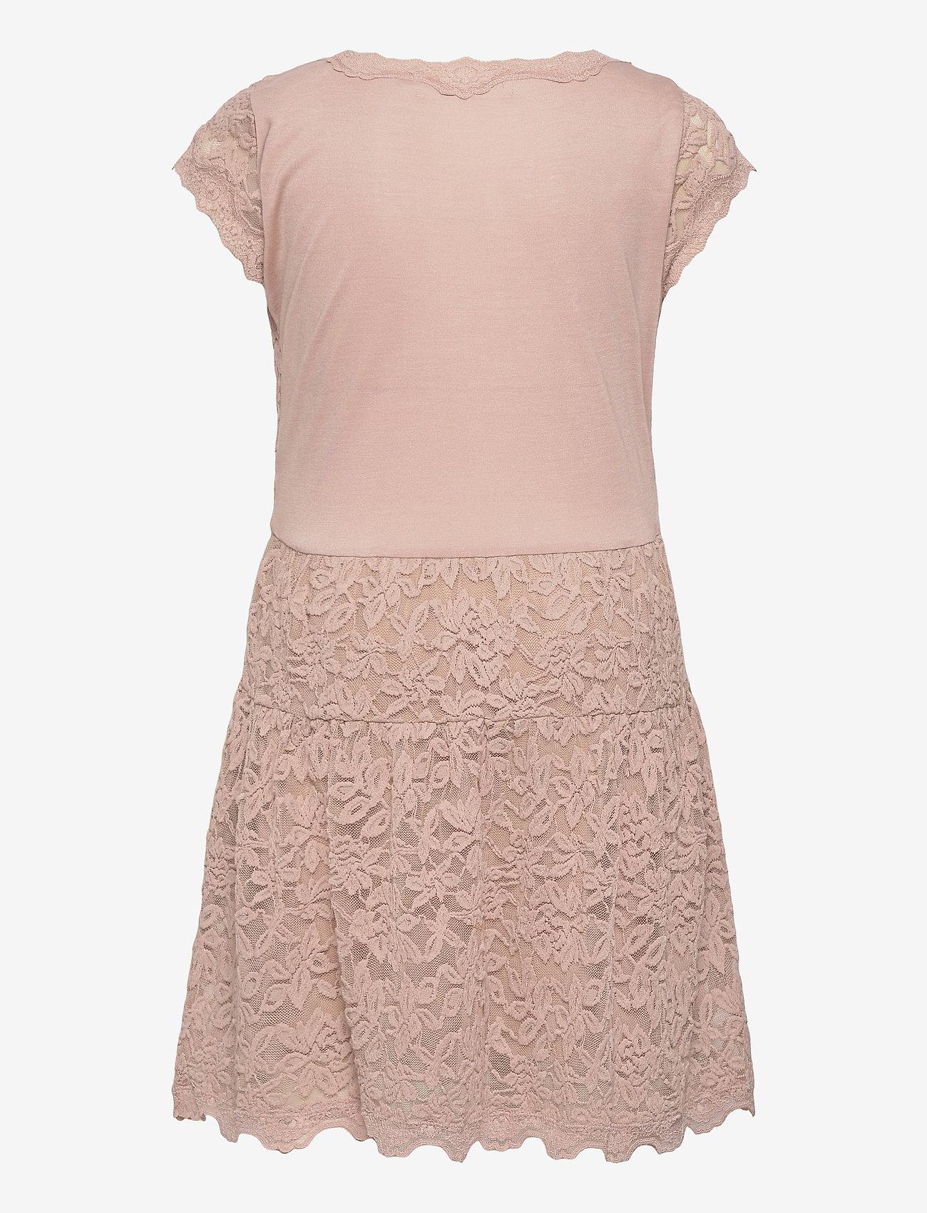 Rosemunde Kids - Dress ss - kleider - vintage powder - 1