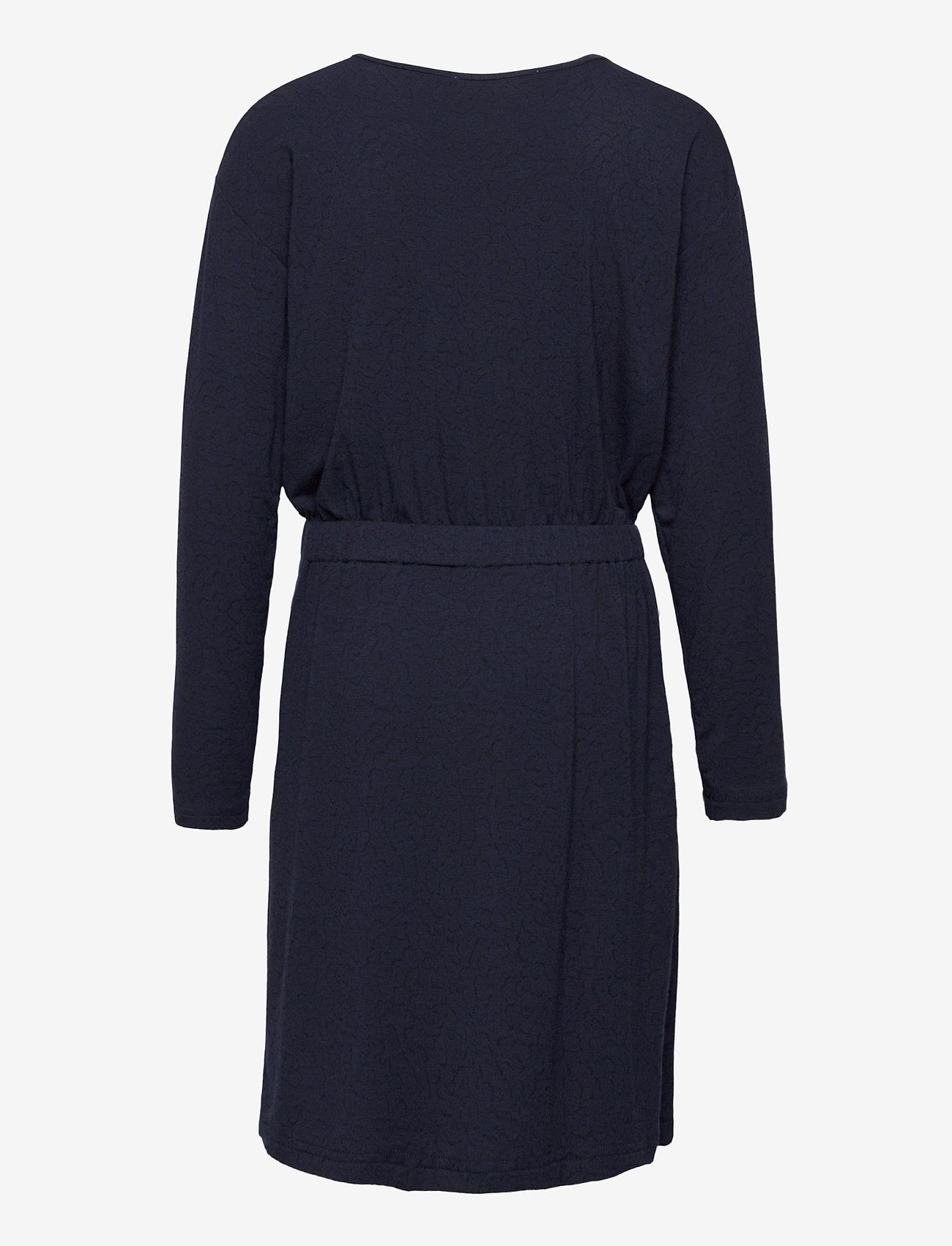 Rosemunde Kids - Dress ls - robes - blue whirlwind print - 1