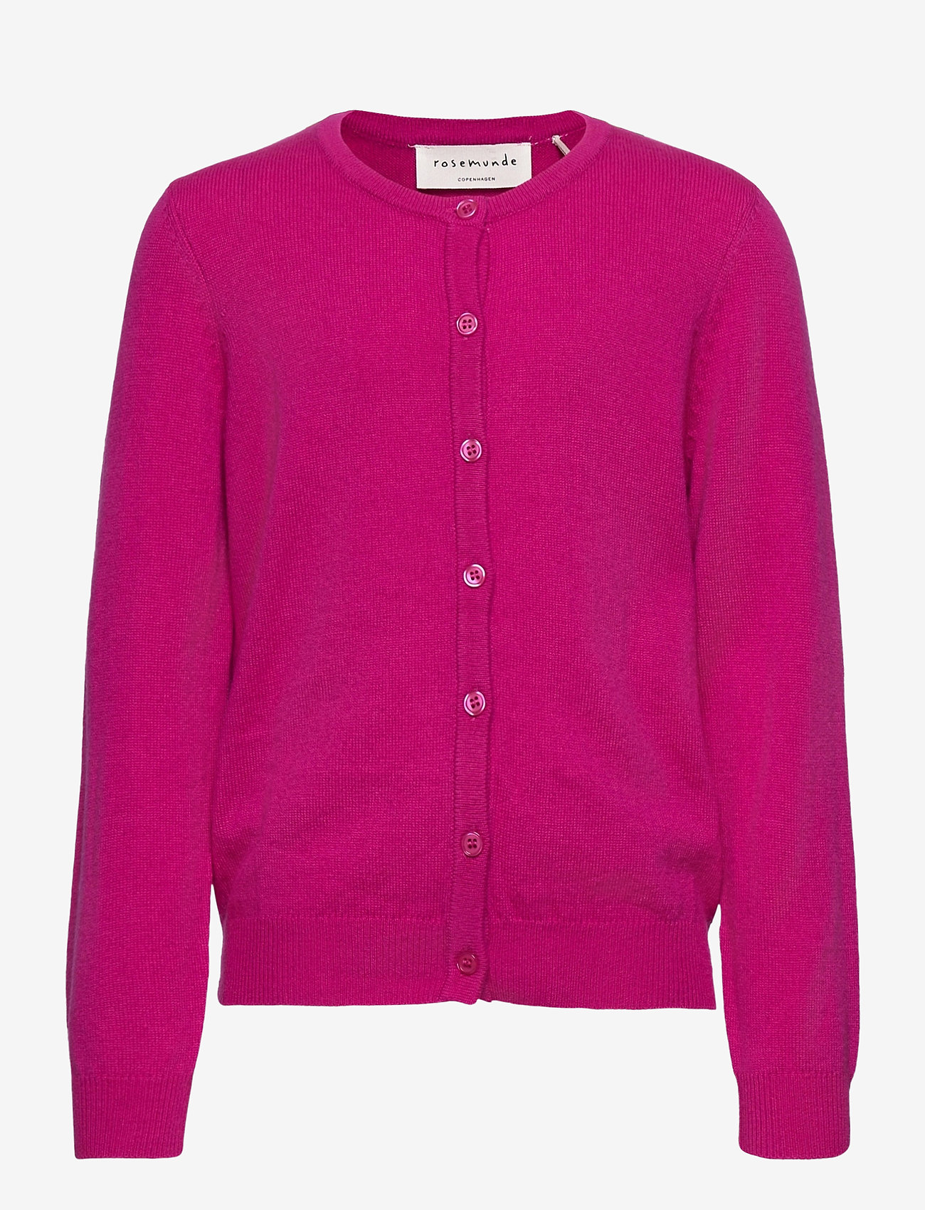 Rosemunde Kids - Cardigan ls - gilets - very berry - 0