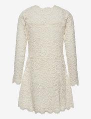 Rosemunde Kids - Dress ls - kleider - ivory - 1