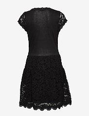 Rosemunde Kids - Dress ss - kleider - black - 1