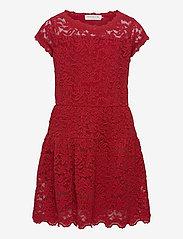 Dress ss - CRANBERRY