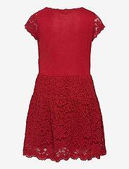 Rosemunde Kids - Dress ss - kleider - cranberry - 1