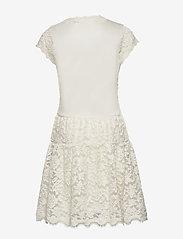 Rosemunde Kids - Dress ss - kleider - ivory - 1