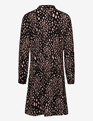 Rosemunde Kids - Dress ls - robes - black blurred spot print - 1