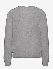 Rosemunde Kids - Cardigan ls - gilets - light grey melange - 1