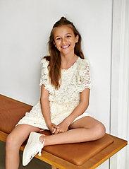 Rosemunde Kids - Dress ss - kleider - ivory - 0