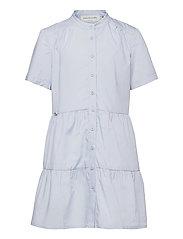 Organic cotton dress ss - HEATHER SKY