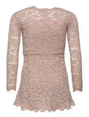 Rosemunde Kids - Dress ls - kleider - vintage powder - 1