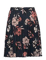 Rosemunde kjole navy spring blossom