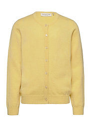 Cardigan ls - VANILLA YELLOW
