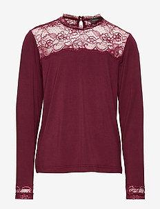 T-shirt ls - SOFT WINE