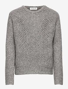 Pullover ls - trøjer - grey blend